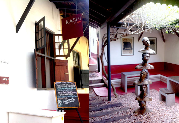 Kashi Art Cafe. Fort Cochin, India.
