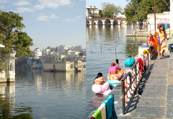 Udaipur Lake palace & washing ghats
