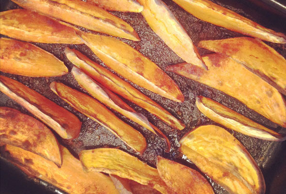 Sticky-sweet-potato-wedges,instag
