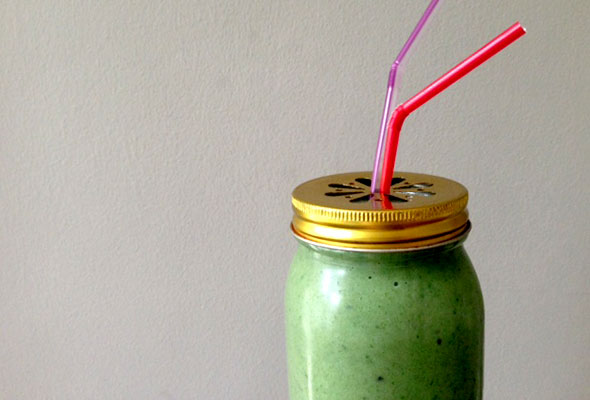 Watercress,-avocado-&-passionfruit-shake