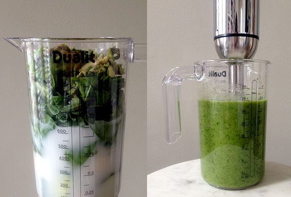 Making-green-smoothies