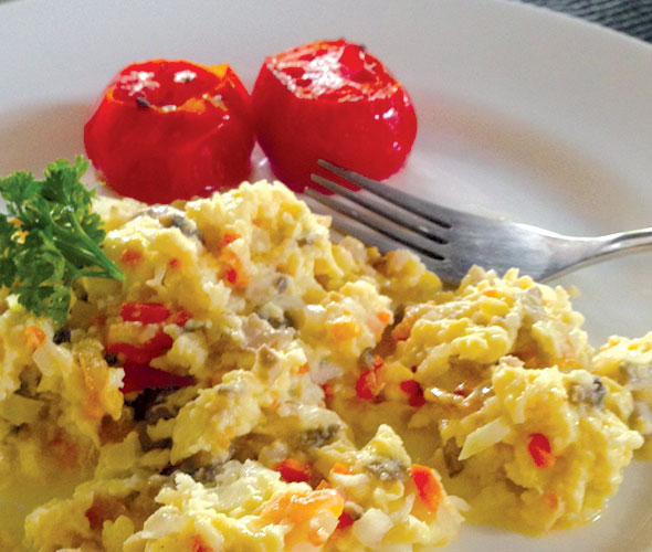 Coconut-scrambled-eggs